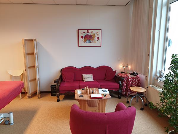 Haptotherapie Emmeloord foto behandelkamer